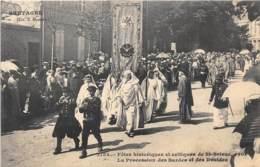 COTES D'ARMOR  22  SAINT BRIEUC - FETES HISTORIQUES ET CELTIQUES 1906 - LA PROCESSION DES BARDES ET DES DRUIDES - Saint-Brieuc