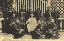 Missions Des Pères Blancs OUGANDA Mgr Streicher Et Ses Premiers Pretres Indigènes RV - Oeganda
