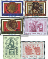 Vatikanstadt 664-666,667-669 (complete Issue) Unmounted Mint / Never Hinged 1975 Archeology, Library - Vatican