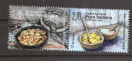 BOSNIA AND HERZEGOVINA 2019,POST MOSTAR,WORLD FOOD DAY,GASTRONOMY,MNH - Bosnia Herzegovina