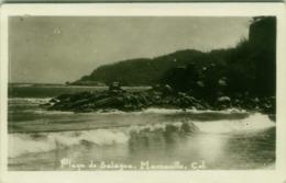 MEXICO - PLAYA DE SALAGUA - MANZANILLO - RPPC POSTCARD - EDIT KODAK MEXICANA LTD . 1940s (BG4638) - México