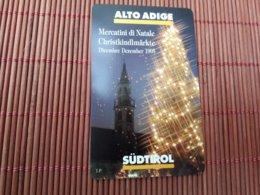 Christmas Phonecard Italy 5000 Lire 30.06.97(mint,Neuve) Rare - Natale