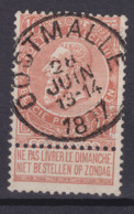 N° 57 Défauts OOSTMALLE COBA +8.00 - 1893-1900 Schmaler Bart