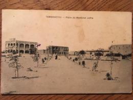 CPA, MALI,TOMBOUCTOU, éd Le Deley, Place Du Maréchal Joffre, Non écrite - Mali