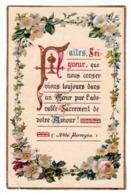 IMAGE DE COMMUNION DES ANNÉES 50 [ ABBÉ PERREYVE ENLUMINURE ] (1061)_D275 - Andachtsbilder