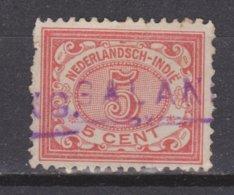 Nederlands Indie Dutch Indies 46 Langstempel Cijfer 1902 ; NETHERLANDS INDIES PER PIECE + MUCH MORE SPECIAL CANCEL - Nederlands-Indië