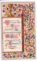 IMAGE DE COMMUNION DES ANNÉES 50 [ ENLUMINURE ] (1067)_D279 - Andachtsbilder