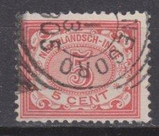 Nederlands Indie Dutch Indies 46 TOP CANCEL BODJONEGORO Cijfer 1902 ; NETHERLANDS INDIES PER PIECE - Nederlands-Indië