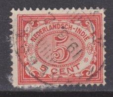 Nederlands Indie Dutch Indies 46 TOP CANCEL SITOEBONDO Cijfer 1902 ; NETHERLANDS INDIES PER PIECE - Nederlands-Indië