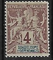 GUADELOUPE N°29 N**  Fournier - Nuovi
