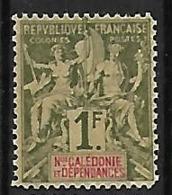 NOUVELLE-CALEDONIE N°53 N**  Fournier - Nuova Caledonia