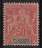 NOUVELLE-CALEDONIE N°51 N**  Fournier - Unused Stamps