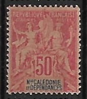 NOUVELLE-CALEDONIE N°51 N**  Fournier - New Caledonia