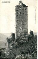 N°76094 -cpa Scey En Varais -ruines Du Château St Denis- - Francia