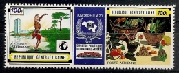 FILATELIA - REPÚBLICA CENTROAFRICANA 1970 - Yvert #85A - MNH ** - Exposiciones Filatélicas