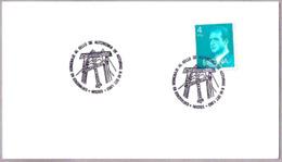Matasellos HOMENAJE AL SELLO DE AUTONOMIA DE ASTURIAS. Mieres, Asturias, 1983 - 1931-Hoy: 2ª República - ... Juan Carlos I