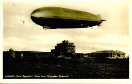 "Z 01 - DIRIGIBILE ""GRAF ZEPPELIN"" A CHEMNITZ - CIRCOLATA 1937 - Dirigeables"