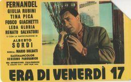 USATA-710-TELECOM ITALIA-CINEMA- ERA DI VENERDI'- - Pubbliche Figurate Ordinarie