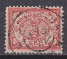 Nederlands Indie Dutch Indies 46 CANCEL SOERABAJA Cijfer 1902 ; NETHERLANDS INDIES PER PIECE - Nederlands-Indië