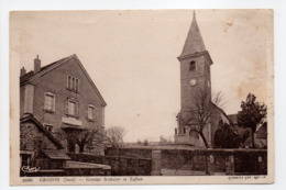 - CPA GROZON (39) - Groupe Scolaire Et Eglise - Photo CIM 30585 - - France