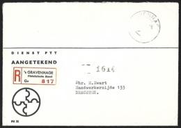 NEDERLAND - Cover [Reg] + 'S GRAVENHAGE - Poststempels/ Marcofilie
