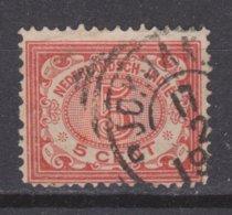 Nederlands Indie Dutch Indies 46 CANCEL DJOKJAKARTA Cijfer 1902 ; NETHERLANDS INDIES PER PIECE - Nederlands-Indië