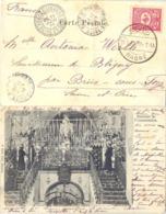 PALESTINE CPA NAZARETH TàD NASRÉ 31-5-1904 Sur TIMBRE TURC => BRIIS /S FORGES SEINE-ET-OISE - 1858-1921 Ottoman Empire