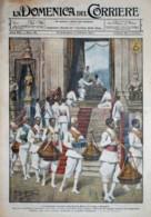 1920 - N° 39 - COPERTINA ORIGINALE - LA DOMENICA DEL CORRIERE - FUNERALI DELLA REGINA MADRE DEL SIAM A BANGKOK - Livres, BD, Revues