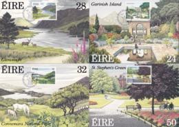 Ireland / Eire1969XxCartes Maximum Garinish Conemara Glenveagh Stephen - Cartoline Maximum