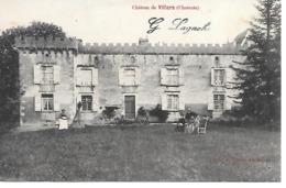 25/16      16   Villars   Le Chateau   (animations) - France