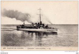 """MARINE DE GUERRE - """"Janissaire"""" Contre Torpilleur  2 Scans  TBE - Warships"""
