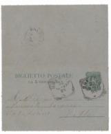 DA BRESCIA PER CITTA' - 30.1.1897. - 1878-00 Umberto I