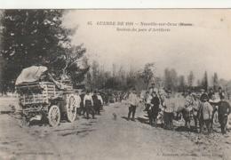 ***  51  *** MILITARIA Guerre 14 / 18 -- Neuville Sur Orne Section Du Parc D'Artillerie  - écrite TTB - France