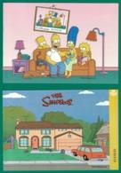 España. Spain. 2019. HB. Series De Televisión. The Simpsons (Los Simpson) - 2011-... Nuevos & Fijasellos