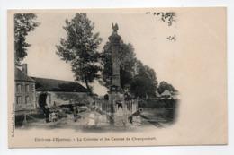 - CPA Environs D'Epernay (51) - La Colonne Et Les Canons De Champaubert - Edition C. Bonnard - - Epernay