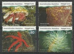 Azores 2010 Mi 563-566 MNH ( ZE1 AZR563-566 ) - Marine Life