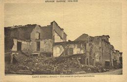 CPA St-MIHIEL (Meuse) Etat Actuel De Quelques Habitations (152514) - Saint Mihiel