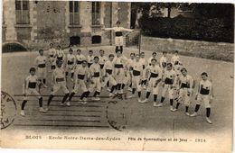 CPA BLOIS - École Notre-Dame-des-AYdes - Fete De GYmnastique Et De Jeux (208826) - Blois