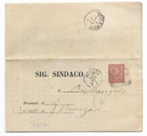 DA NOVARA A VICENZA - 31.1.1867. - Storia Postale
