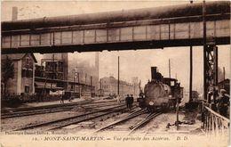 CPA MONT-St-MARTIN - Vue Partielle Des Acieres (386491) - Mont Saint Martin