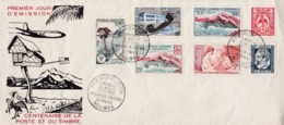 Nouvelle-Calédonie1960XxFDC Centenaire Poste Timbre - FDC