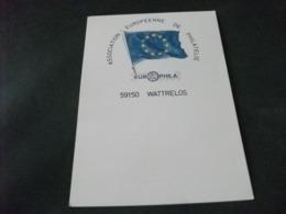 EUROPHILA 1981 59150 WATTRELOS BANDIERA EUROPA - Borse E Saloni Del Collezionismo