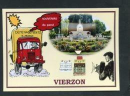 18  VIERZON  ... Cartes Systeme 8 Vues Anciennes - Vierzon