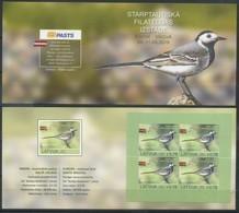 Latvia 2019 Europa CEPT, Fauna, Birds Booklet - 2019