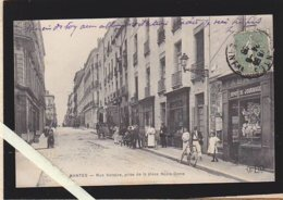 Nantes  /  Rue Voltaire, Prise De La Place Notre-dame / Rare - Nantes