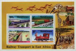 Ref. 59096 * NEW *  - TANZANIA . 1976. RAILWAY TRANSPORT. TRANSPORTES FERROVIARIOS - Tanzania (1964-...)