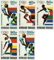 Ref. 52346 * NEW *  - TOGO . 1972. GAMES OF THE XX OLYMPIAD. MUNICH 1972. 20 JUEGOS OLIMPICOS VERANO MUNICH 1972 - Togo (1960-...)