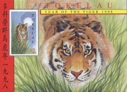 Ref. 90309 * NEW *  - TOKELAU . 1998. A�O LUNAR CHINO - A�O DEL TIGRE - Tokelau