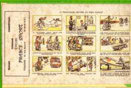 BUVARD & Blotting Paper : La Prodigieuse Histoire Du Pneu DUNLOP VELO VOITURE AVION - Motos & Bicicletas