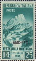 Ref. 77049 * NEW *  - TRIESTE A Zone . 1953. MOUNTAIN FESTIVAL. FIESTA DE LA MONTA�A - Trieste